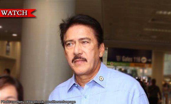 Senator Tito Sotto: Naiinis ako sa mga nagsasabi nang 'stop the drug war'