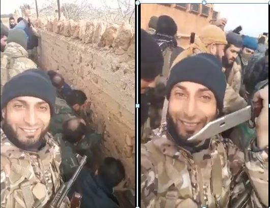 Ιdlib.Oι τζιχαντιστές αιχμαλώτισαν 20 σύριους στρατιώτες κι απειλούν να τους αποκεφαλίσουν. © Ιdlib.Oι τζιχαντιστές αιχμαλώτισαν 20 σύριους στρατιώτες κι απειλούν να τους αποκεφαλίσουν. [vid]