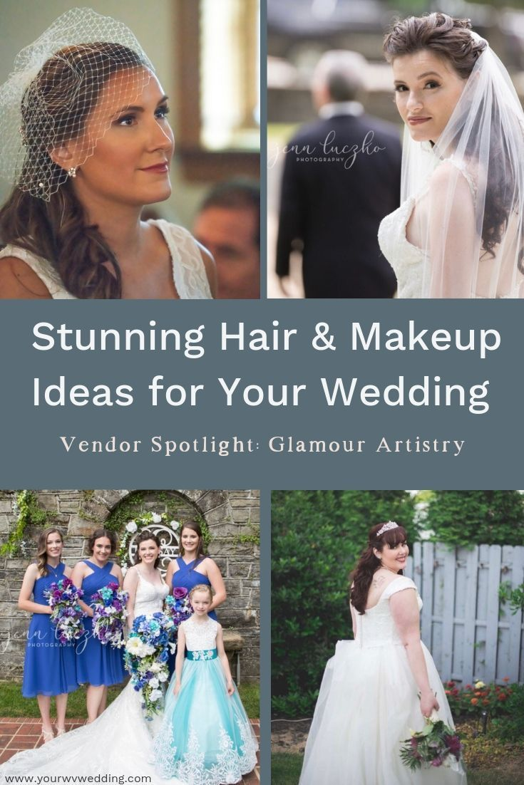 stunning hair and makeup ideas for your wedding from glamour
