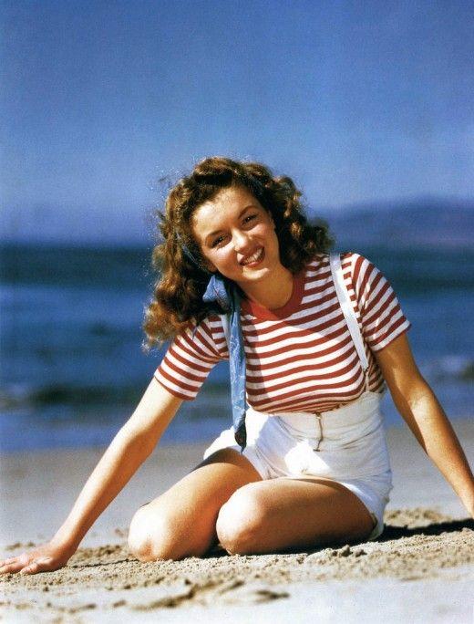 Marilyn Monroe as Norma Jeane