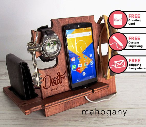 Fathers day gift,docking station,gift for dad,father's day gift,gift for husband,gift for him,boyfriend gift,gift for men,personalized gift