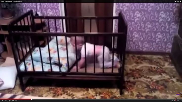 Escape from the crib / побег из кроватки