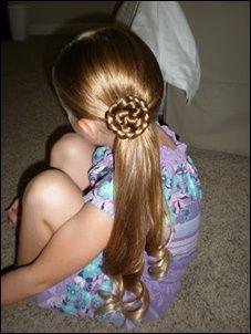 子どもヘアアレンジ