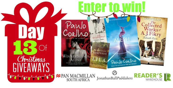 Day 13 hamper from Pan Macmillan & @JonathanBallPub is filled with incredible fiction that you need to read! Enter here: https://gleam.io/GOkL4/day-13-of-christmas-giveaways