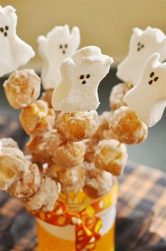 Donut Kebobs! Halloweenie Roast}2011