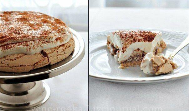 Торт для настоящих романтиков! Получается хрустящий снаружи и немного мягкий внутри