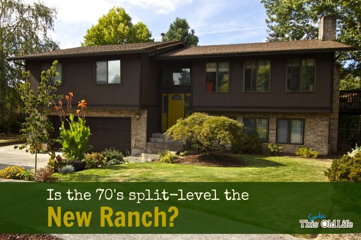 Is the 70 39 s split level the new ranch who cares i love for Split level ranch remodel