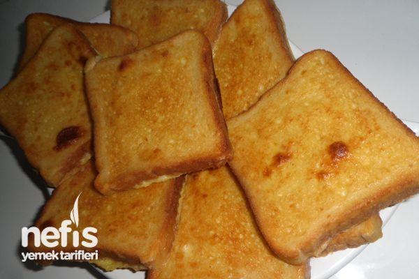 Soslu Kıtır Ekmek Tarifi nasıl yapılır? 283 kişinin defterindeki Soslu Kıtır Ekmek Tarifi'nin resimli anlatımı ve deneyenlerin fotoğrafları burada. Yazar: Pınar Kaya