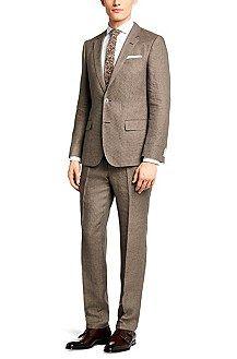 Slim-Fit Anzug ´Hedson/Gander` aus Leinen, Beige
