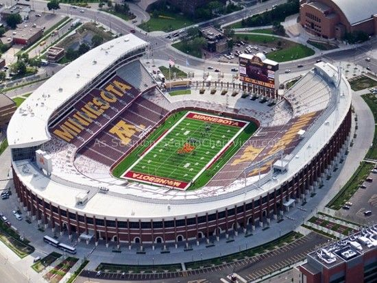 TCF Bank Stadium seating charts and tickets and info. Minnesota Vikings information, TCF Bank Stadium seating views, information & tickets.