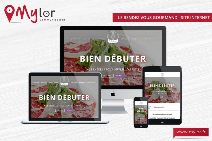 Création du site internet Rendez Vous Gourmand