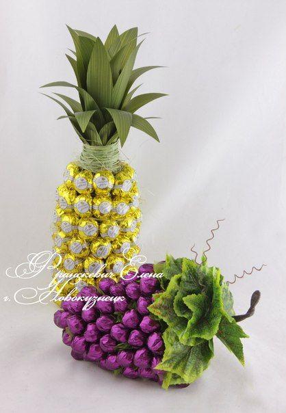 die besten 25 rocher ananas ideen auf pinterest gold. Black Bedroom Furniture Sets. Home Design Ideas