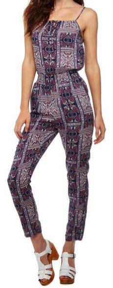 Natalie Shirred Jumpsuit - COTTON ON http://shop.cottonon.com/shop/product/natalie-shirred-jumpsuit-british-india/