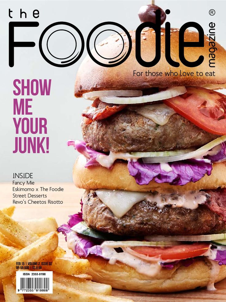 The Foodie Magazine - February 2015