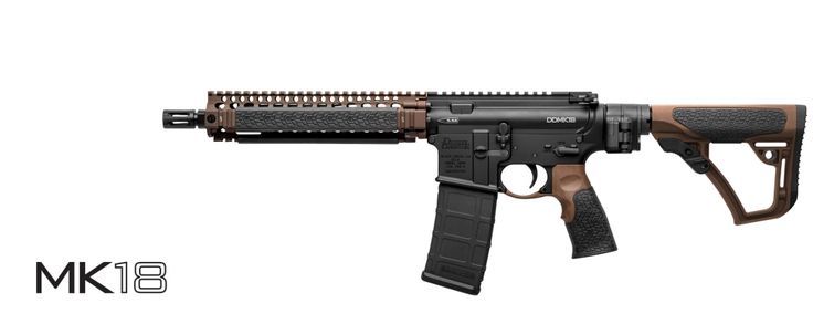 Daniel Defense MK18-Factory SBR (Law Tactical)