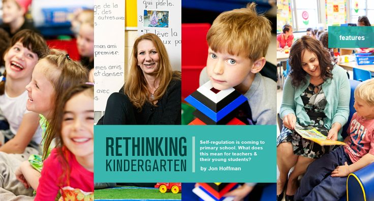 Rethinking Kindergarten - Self-Regulation- ECC teachers this is a GREAT article to read! Take 2 minutes to read this! I truly believe what it says!- Darla