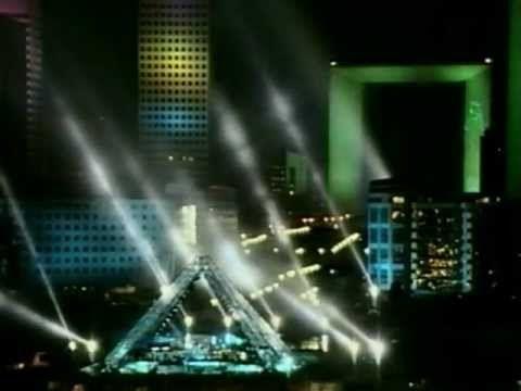 Jean Michel Jarre - Paris La Defense A City In Concert (VHS Full Show)