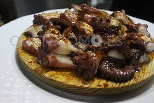 Pulpo a la gallega | Restaurante pizzería tapería Tito & Pizza en Ribadeo, Lugo