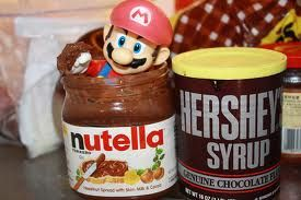 Super Mario nutella