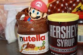 Super Mario nutella
