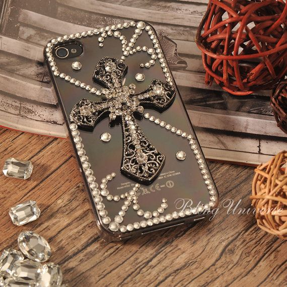 iPhone 5 case iPhone 5 cross  Bling iPhone 5 case by BlingUniverse, $15.99