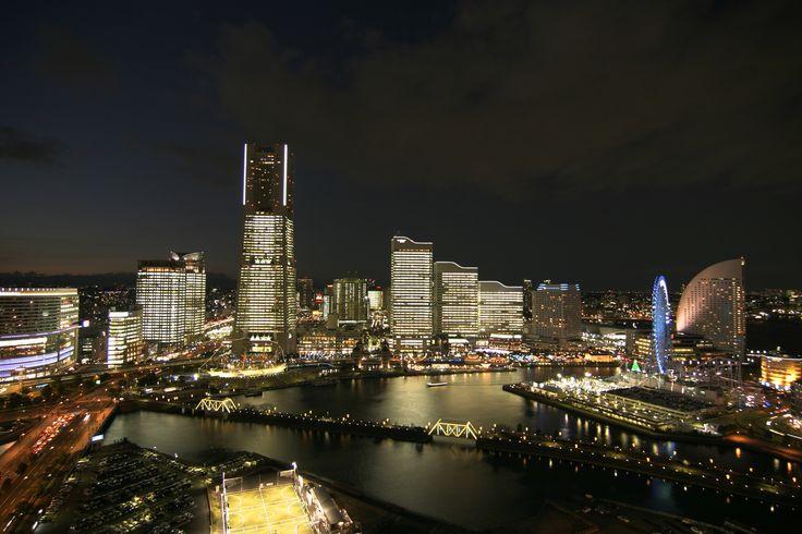 1年に1度の全館点灯 夜景 みなとみらい 横浜 期間限定 冬 towers milight