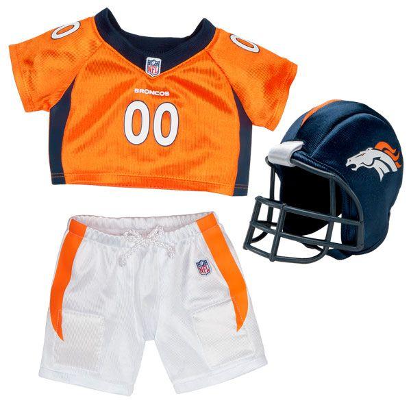Denver Broncos Uniform 3 pc. - Build-A-Bear Workshop US