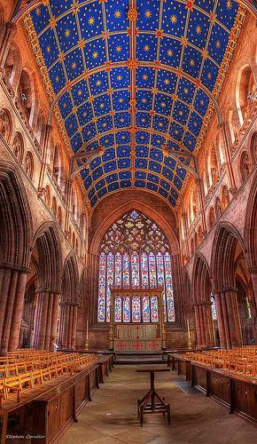 Carlisle Cathedral Carlisle Cathedral is one of the jewels of Cumbria and after standing on the border with Scotland for almost 900 years, it has an interesting tale to tell.