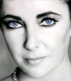Elizabeth Taylor; what beautiful eyes