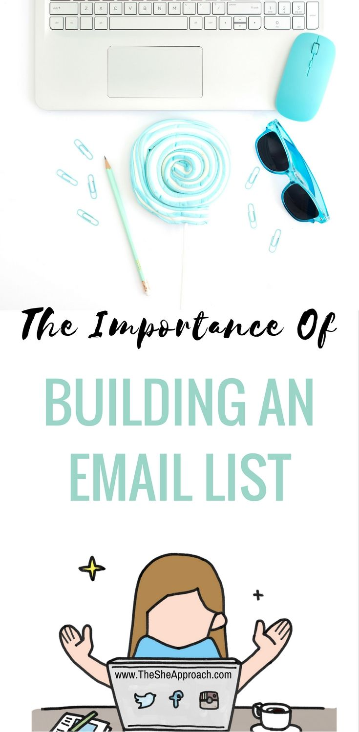 Bloggers and small online business owners, this one is for you! Find out why you should spend your time trying to grow your email list and what the top three email providers are.   #blogginadvice #bloggingtips #emailmarketing #emaillist #ukblogger #lifestyleblogger #laptop