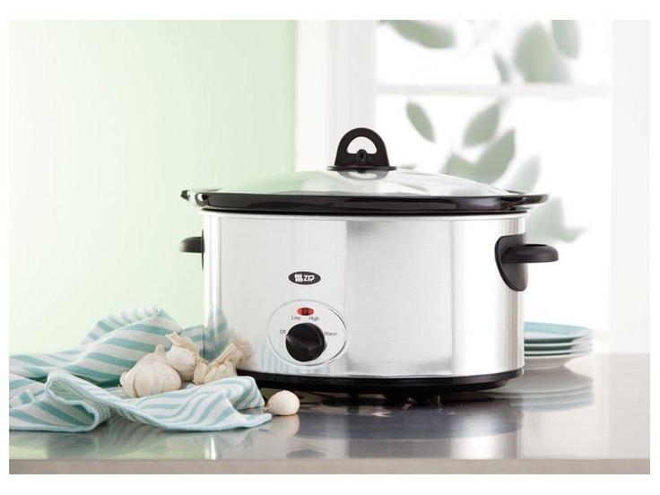Zip Elegance 6.5 Litre Stainless Steel Slow Cooker $59.99 *Prices subject to change