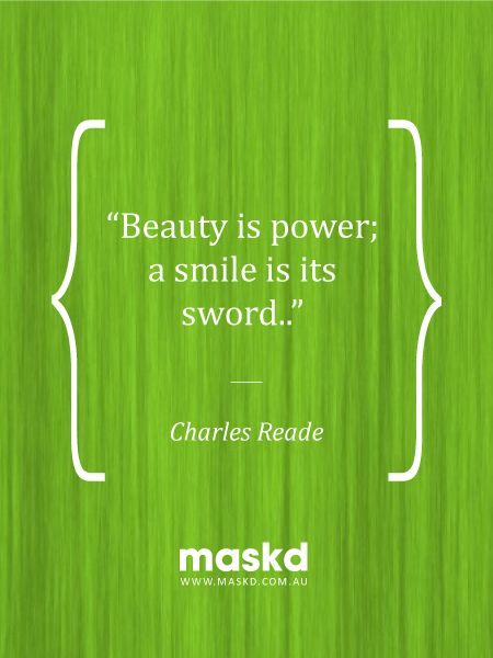 """""""Beauty is power, a smile is its sword.""""  #loveyourskin #amazing #beautiful #selfie #smile #igers #wow #awesome #acne #beauty #quote #pinterest #pinterestquotes #quotes #thegreenmask #maskd"""