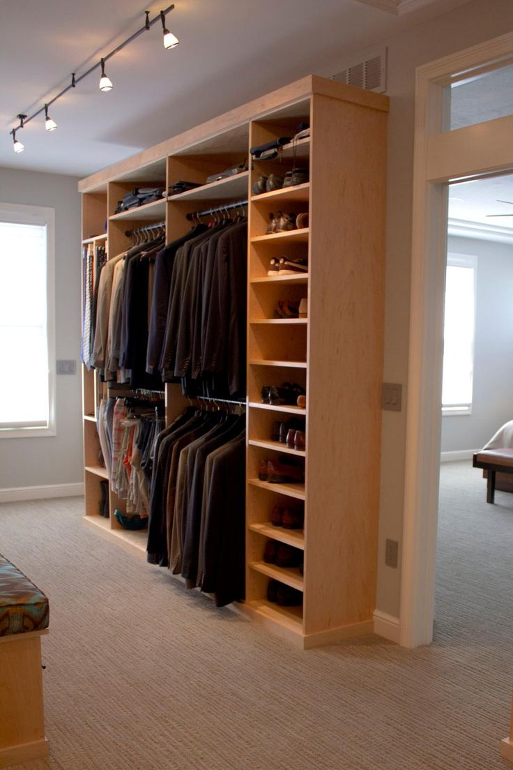 Simple small closet organization tips smart home decorating ideas - 16 Stylish Men S Walk In Closet Ideas