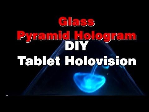 how to make hologram for phone