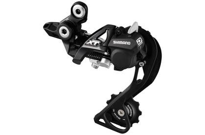 Shimano XT M786 2013 10 Speed Shadow+ white SGS (Long cage)
