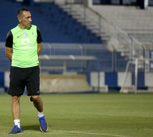 """#AlHilal   Back to training ; and recovery session for the starting lineup after """"Lekhwiya"""" game .."""