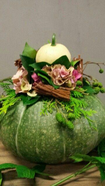 Pumpkins put up | Kalebassenkas (via facebook)