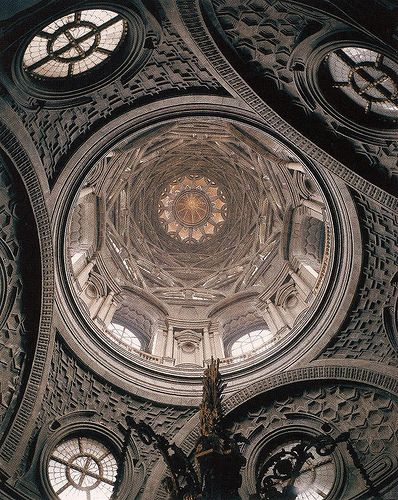 Guarino Guarini. Dome of the Santissima Sindone. Turin. 1668 by arthistory390, via Flickr
