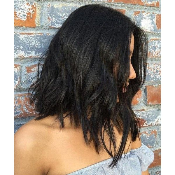 60 Most Beneficial Haircuts for Thick Hair of Any Length ❤ liked on Polyvore featuring accessories, hair accessories, hair, long hair accessories and short hair accessories