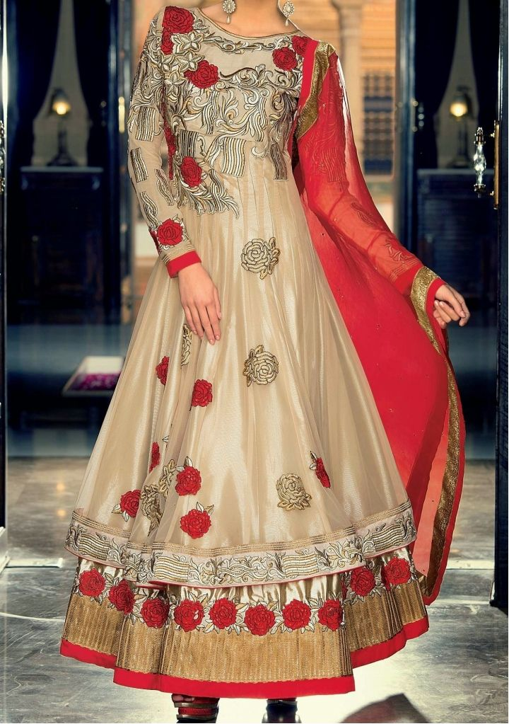 Maya By Rama Exclusive Designer Anarkali Suit