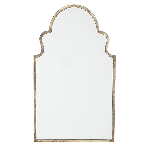 Moroccan Mirror behind the nightstands $329