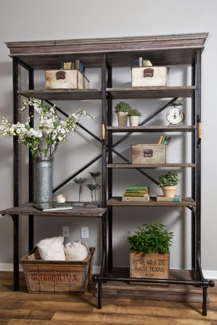 20 industrial home decor ideas - Shelving Units Ideas