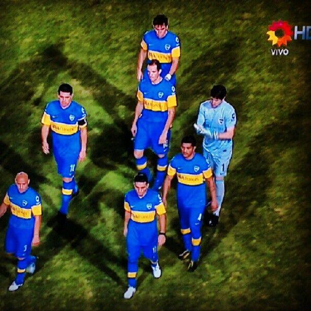 Boca, derrota en la final de la Copa Libertadores 2012.