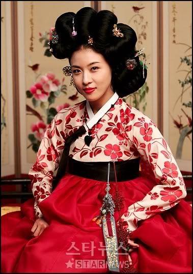 Korean joseon dynasty gisaeng style eon jun meori gisaeng