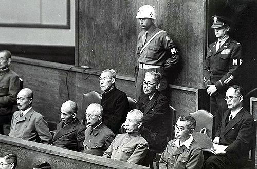 general hideki tojo war criminal essay Hideki tojo (1884-1948), a japanese general and premier during world war ii, was hanged as a war criminal he symbolized, in his rise to leadership of the japanese government, the emergence of japanese militarism and its parochial view of the world hideki tojo was born in tokyo on dec 30, 1884 .