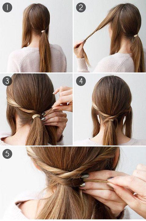 Comment faire coiffure queue de cheval ? Coiffure