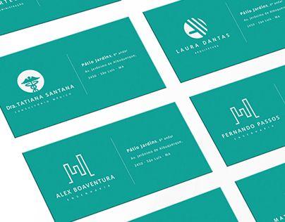 """Check out new work on my @Behance portfolio: """"Um bom cartão de visita começa…"""