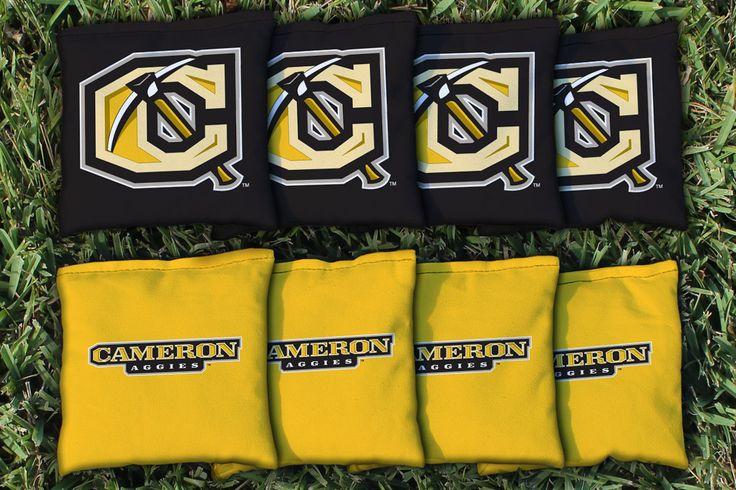 Cornhole Bag Logo Set - Cameron University Aggies 26222