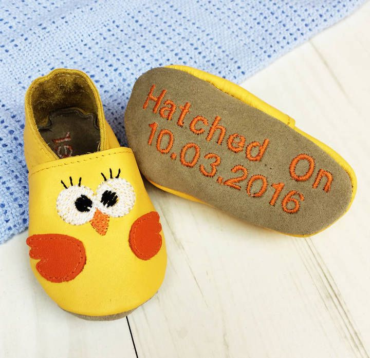 31 best personalised easter toys images on pinterest born bespoke personalised easter chick baby shoes negle Image collections