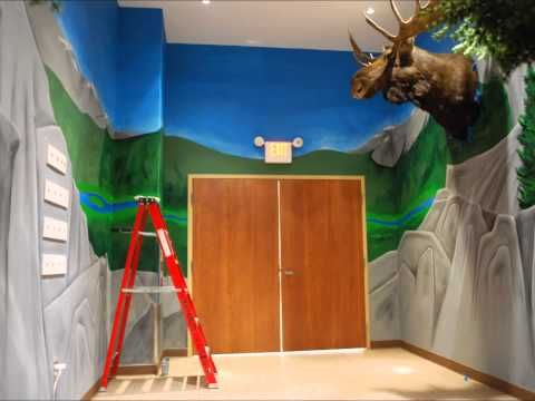 Our Natural World Mural - YouTube